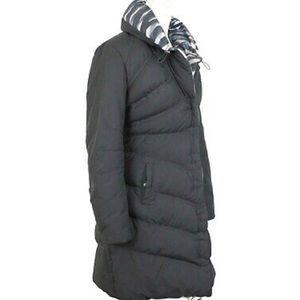 Elie Tahari Reversible Down Puffer Coat